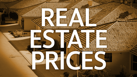 What were the changes in real estate prices in Plumas Lake/Yuba City last three days?